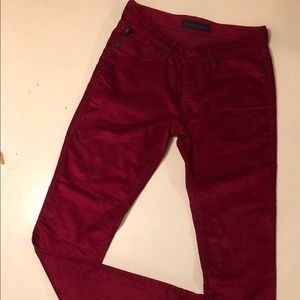 Rock and Republic red cord pant